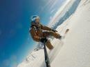 Gudauri snowboard freeride Грузия Гудаури сноуборд gopro3