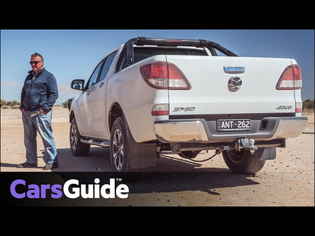 Mazda BT-50 2017 review: off-road route to the Birdsville races video