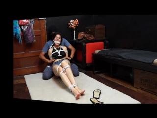 Luna tied up by request