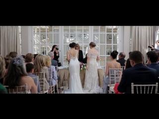 Lesbian Wedding: Dora & Natasha ♀♥♀