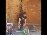 Томас Мартин - тяга 360 кг