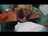 Katrin Tequila - Sweet Blonde Russian Eats Docs Cum Fake Hospital Squirting All Sex HD Porn 2017