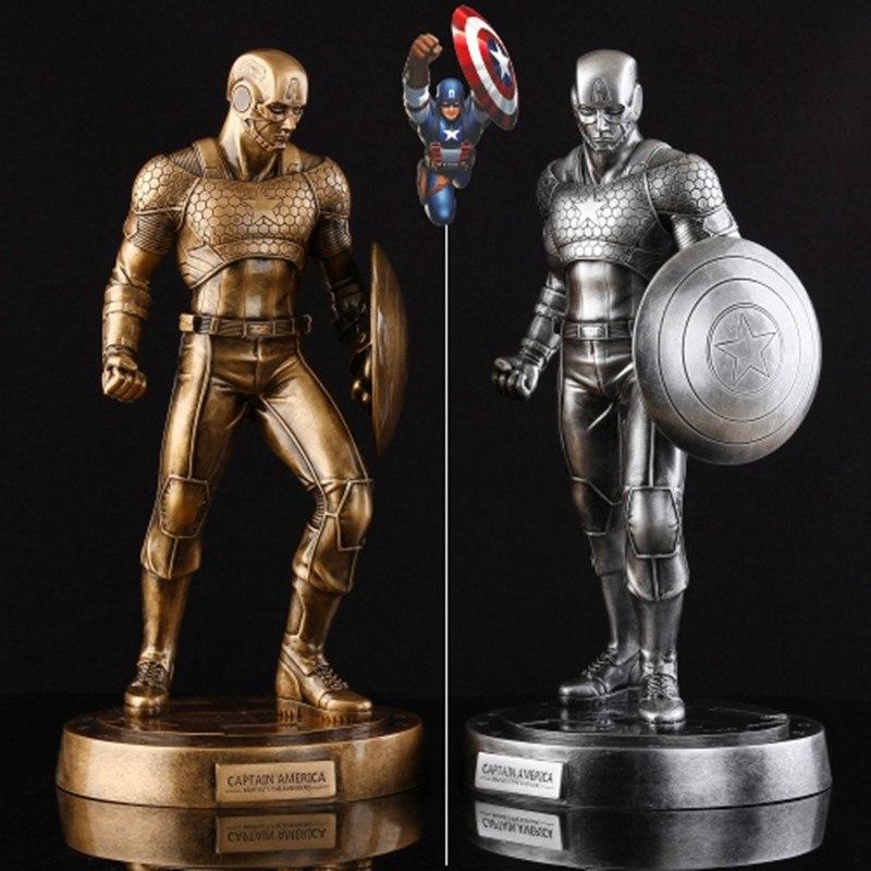 Рубрика Круто но покупать я это конечно не буду - металлические фигурки Captain America