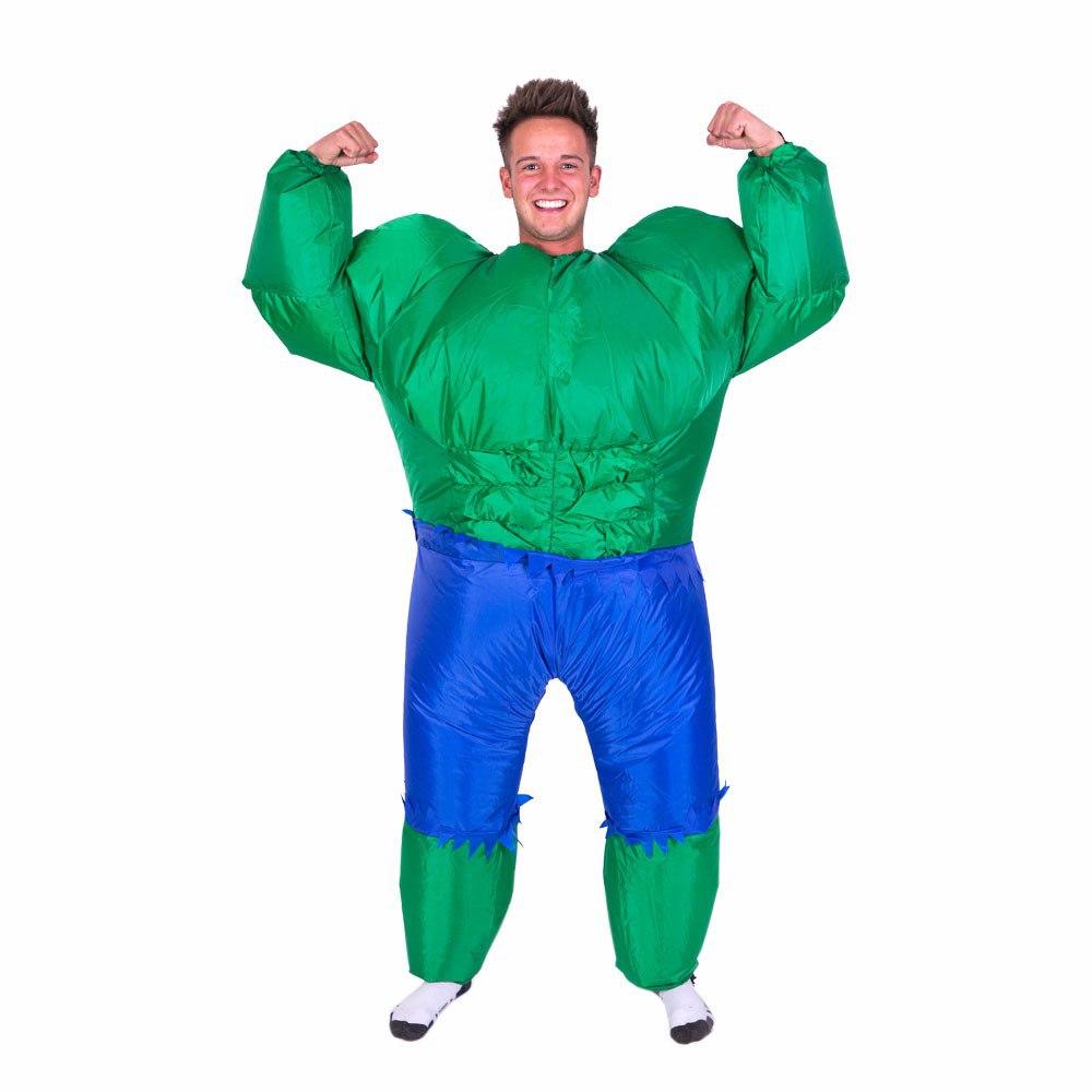 Надувной костюм Hulk
