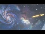 Анимационный натяжной потолок Звездное небо