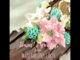 Торт-полено! Очень красиво! Как вам?