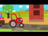 Друзья животные / ©ТеремокTV / детская развивающая песенка про зверей и машинки