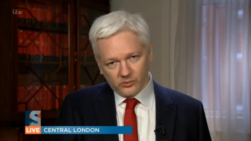 Julian Assange Interview for ITVs Peston on Sunday - January 29th, 2017 [DELETING WITHIN 24 HOURS]
