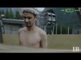 Сотня: Блуперы 4-го сезона с русскими субтитрами