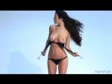 Herge art Muriel Black Bikini ( fetish milf wet pussy big tits suck blowjob kink porn anal мамка сосет порно анал шлюха фетиш )