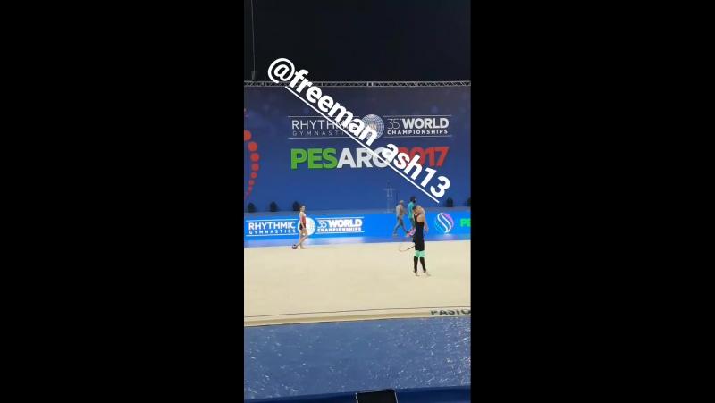 Сабина Аширбаева (опробование) 35 World Championships, 30.08-03.09.2017 - Pesaro, Italy