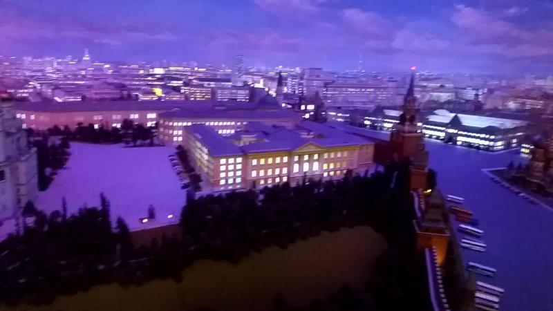 панорама Москвы!В гостинице Украина!