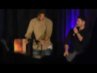 Jared and Jensen Panel (pt5) SPNHous