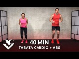 HASfit - Tabata Cardio Workout without Equipment + Abs | Интервальная кардио-тренировка + тренировка пресса