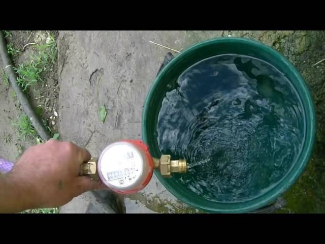 Как не платить за воду дважды