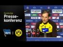 Thomas Tuchel nach der Niederlage in Berlin | Hertha BSC - BVB 2:1