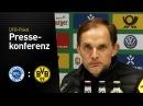 Thomas Tuchel nach dem Sieg gegen Lotte | Sportfreunde Lotte - BVB 0:3