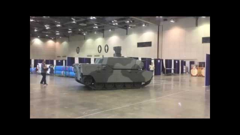 BAE Systems again displaying an Armed Robotic Demonstrator at AUSA Global