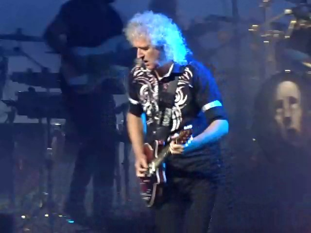 Queen Adam Lambert - Stone Cold Crazy - TD Garden, Boston 7-25-2017
