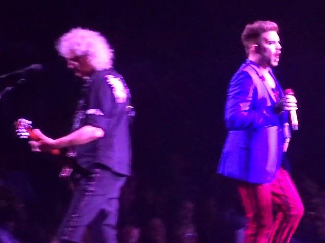 Queen Adam Lambert - Crazy Little Thing Called Love - TD Garden, Boston 7-25-2017