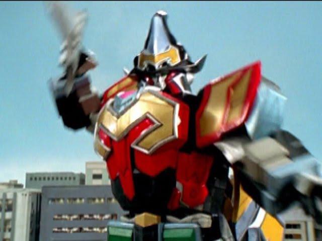 Power Rangers Mystic Force - Soul Specter - Megazord Fight 1 (Episode 16)