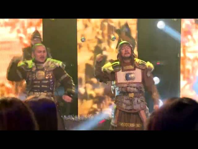 Монголы перепели знаменитый хит Чингисхан