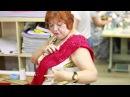 Красное платье Как сшить кружевное платье Работа с заказчиком От выбора модели до примерки Часть 2