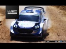 WRC 2017 06 Vodafone Rally de Portugal Tanak with damaged suspension in SS12