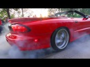 NONSTOP Muscle Cars - Burnouts - V8 Sounds!! - VANTAA CRUISING 6/2017