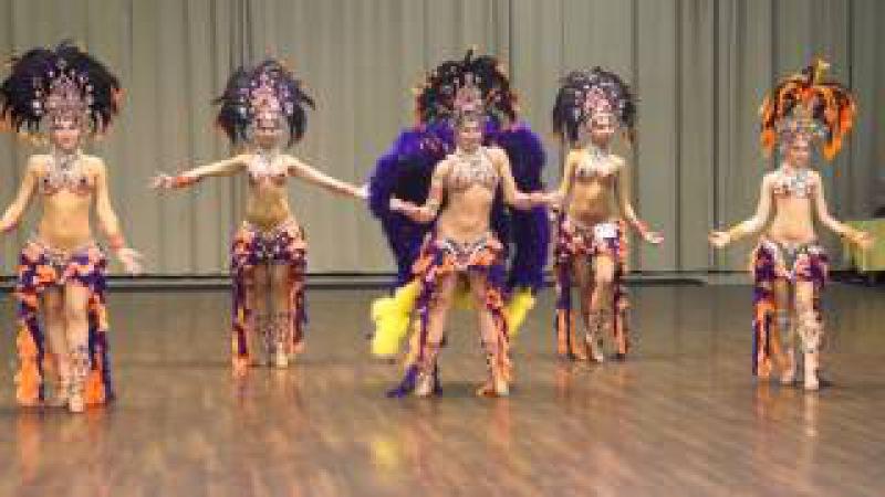 Ensemble Oasis Dance - winners of an open cup on bellydance 2014 (Show Belly Dance)