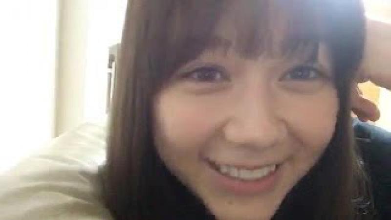2017年05月18日 村重杏奈(HKT48 チームKIV) SHOWROOM あーにゃ 22:16