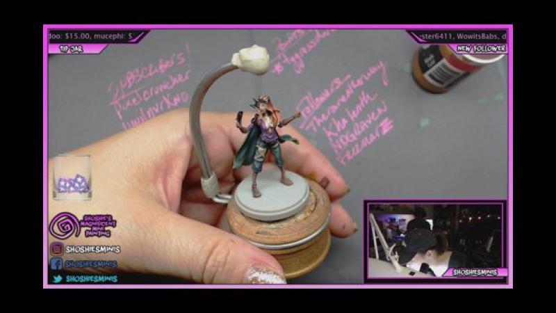 Shoshie paints Role Survivors from Kingdom Death Pt. 2