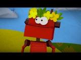 Бумажки - Робот - мультфильм для детей - поделки своими руками
