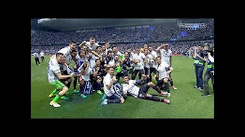 Real Madrid La Liga Title Celebrations 2016-2017 Malaga 0-2 Real Madrid 21/05/2017