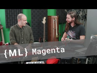Magenta's AI Jam: Making Music with TensorFlow Models