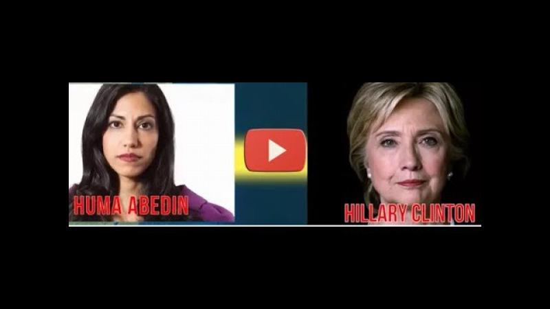 WATCH VIDEO OF HILLARY AND HUMA ABEDINE!