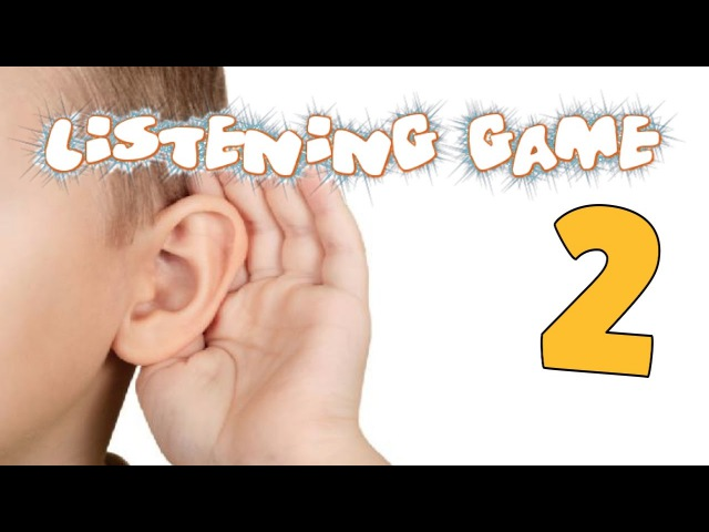 Listening Game 2 - Phase 1 Phonics - Listening and Attention Skills