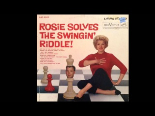 Rosemary Clooney - Get Me To The Church On Time