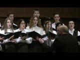 Отчетный концерт вокально - хоровой музыки ХМУ им. Б.М.Лятошинского 2017г.