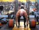 Константин Константинов, тяга трэп-грифа 350 и 370 кг