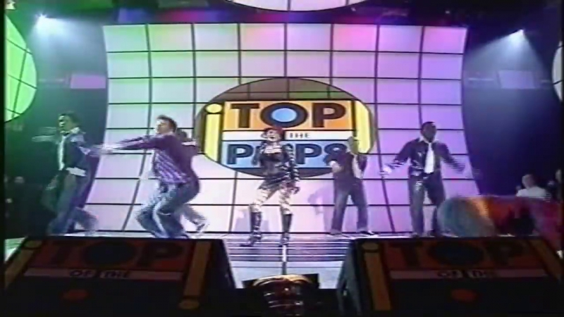 Dannii Minogue - Who Do You Love Now @ TOTP 30.11.2001