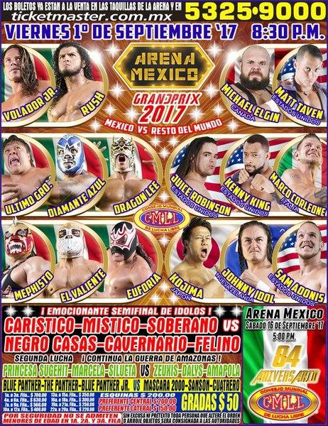 Post image of CMLL International Gran Prix 2017
