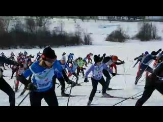 Московская лыжня-2017