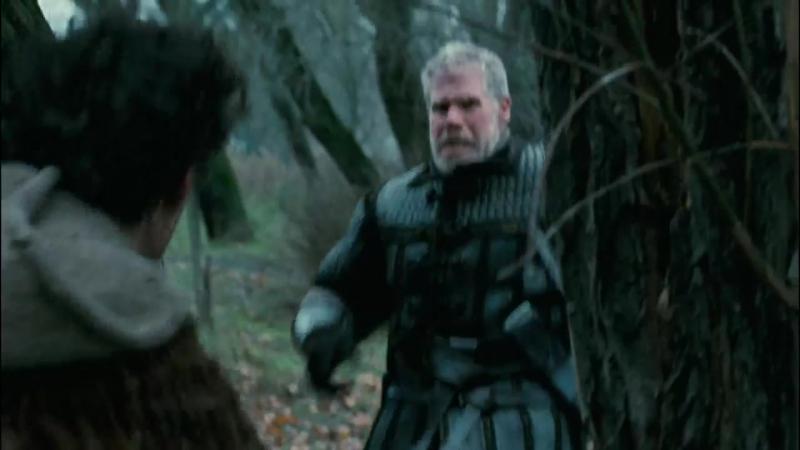 Время ведьм (2011). Поединок на мечах в лесу