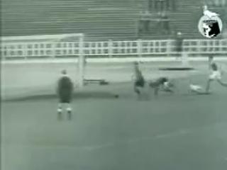 Первый пенальти в стиле Йохана Кройфа. 1957 год.