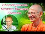 Благодарность Бхакти Вигьяне Госвами Махараджу. Сандхья-аватар дас