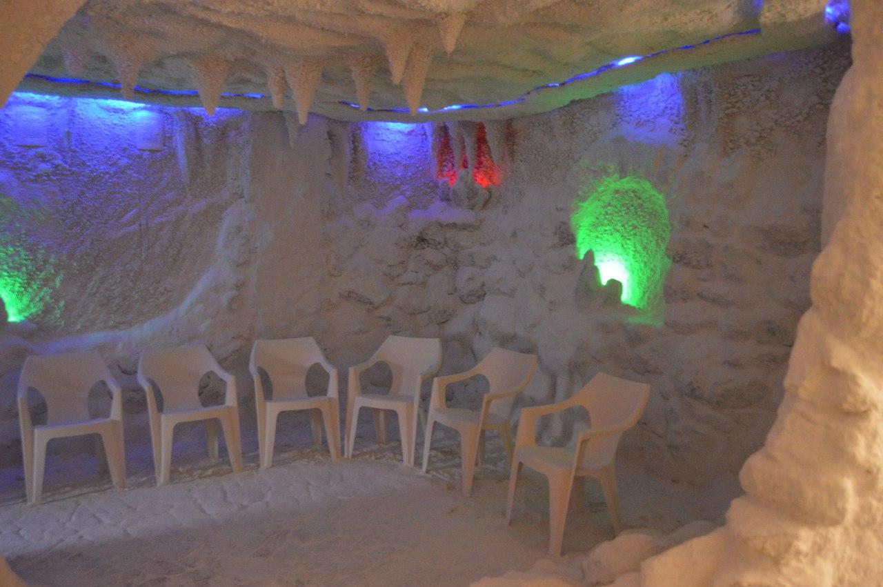 Лечение детей в Соляной комнате