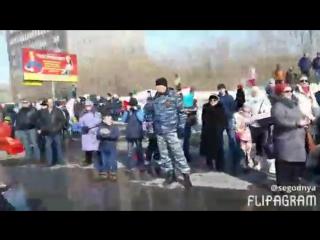 #ХэлоуВоркута | Парад 9 мая в Воркуте глазами участника
