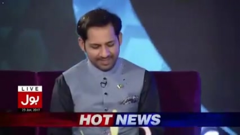 Pakistan Cricket Team Captain Sarfraz Ahmed Reaction When Aamir Liaquat Remarks Over Indian Team