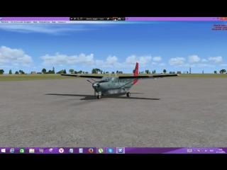 Мин.Воды-Нальчик по GPS.Cessna GrandCaravan.